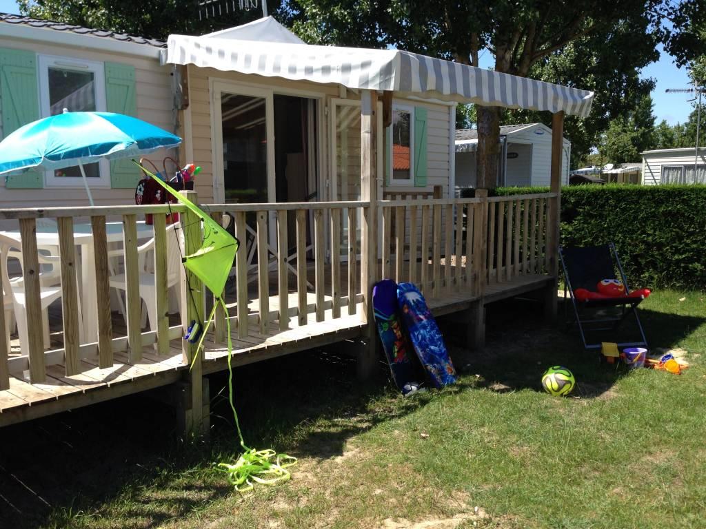 MOBIL HOME TRIBU : Camping Le Cottage Fleuri, La Tranche-sur-Mer - Les campings en France ...