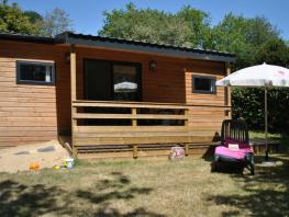CHALET - 2 chambres - 1 salle de bain - COUNTRY LODGE 5 - 35 m² -