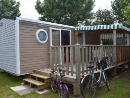 Mobil-home CONFORT+ 28m² - 2 chambres + terrasse couverte
