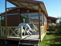 CHALET 2/4 Pers. 20m² + Terrasse Semi-Couverte