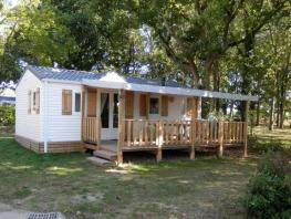 CONFORT Mobil Home 32m² (3 chambres) + terrasse couverte
