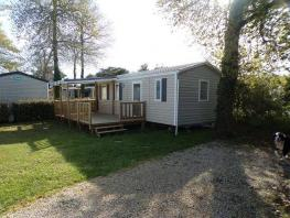 Mobile home Confort+ 34m² (3 chambres) terrasse semi couverte