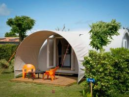 Coco sweet 17 m² (2 rooms) + terrace (without toilet blocks) side camping